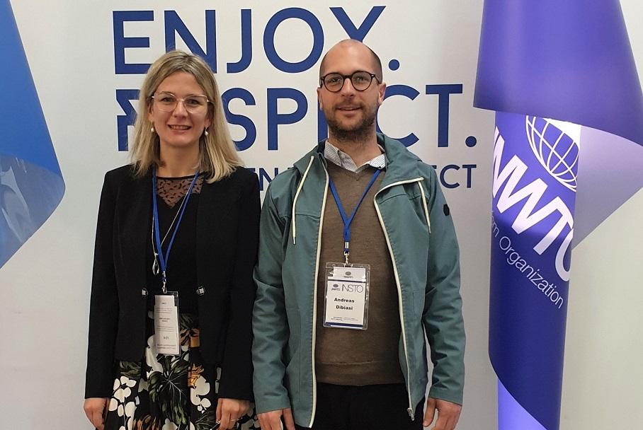 Anna Scuttari & Andreas Dibiasi Global INSTO Meeting Madrid